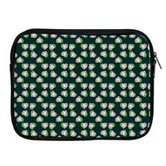 Darla Teal Apple Ipad 2/3/4 Zipper Cases by snowwhitegirl