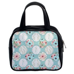 Floral Work Classic Handbag (two Sides)