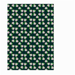 Darla Teal Large Garden Flag (two Sides)
