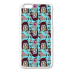 Braids Doll Daisies Blue Iphone 6 Plus/6s Plus Enamel White Case by snowwhitegirl