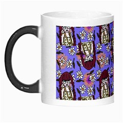 Braids Doll Daisies Purple Morph Mugs by snowwhitegirl