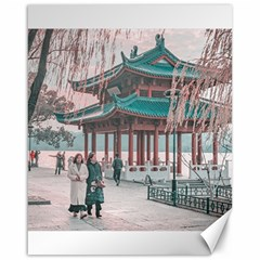 West Lake, Hangzhou, China Canvas 16  X 20  by dflcprintsclothing