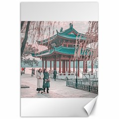 West Lake, Hangzhou, China Canvas 20  X 30  by dflcprintsclothing