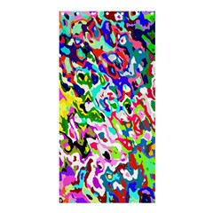 Colorful Paint Texture                                                    Shower Curtain 36  X 72