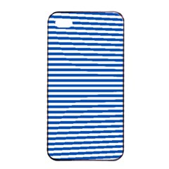 Classic Marine Stripes Pattern, Retro Stylised Striped Theme Iphone 4/4s Seamless Case (black) by Casemiro