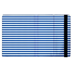 Classic Marine Stripes Pattern, Retro Stylised Striped Theme Apple Ipad 3/4 Flip Case