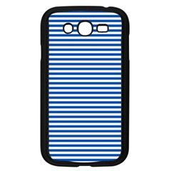 Classic Marine Stripes Pattern, Retro Stylised Striped Theme Samsung Galaxy Grand Duos I9082 Case (black) by Casemiro