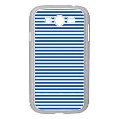 Classic Marine Stripes Pattern, Retro Stylised Striped Theme Samsung Galaxy Grand Duos I9082 Case (white) by Casemiro