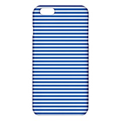Classic Marine Stripes Pattern, Retro Stylised Striped Theme Iphone 6 Plus/6s Plus Tpu Case by Casemiro