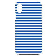Classic Marine Stripes Pattern, Retro Stylised Striped Theme Iphone Xs Max
