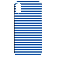 Classic Marine Stripes Pattern, Retro Stylised Striped Theme Iphone Xr Black Uv Print Case by Casemiro