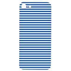 Classic Marine Stripes Pattern, Retro Stylised Striped Theme Iphone 7/8 Soft Bumper Uv Case by Casemiro