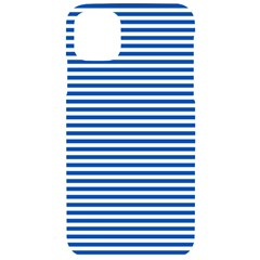 Classic Marine Stripes Pattern, Retro Stylised Striped Theme Iphone 11 Pro Max Black Uv Print Case by Casemiro