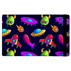 Space Pattern Apple Ipad Mini 4 Flip Case