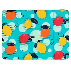Pop Art Style Citrus Seamless Pattern Samsung Galaxy Tab 7  P1000 Flip Case by Amaryn4rt