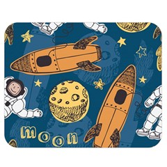 Missile Pattern Double Sided Flano Blanket (medium)