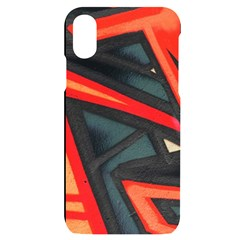 Graffiti Detail Wallpaper Texture Background Iphone X/xs Black Uv Print Case