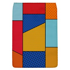 Dotted Colors Background Pop Art Style Vector Removable Flap Cover (s)