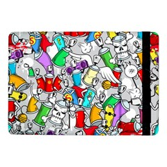 Graffit Characters Seamless Pattern Art Samsung Galaxy Tab Pro 10 1  Flip Case by Amaryn4rt