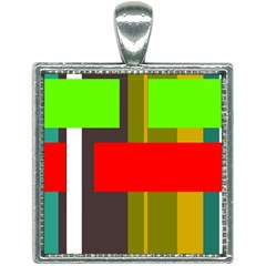 Serippy Square Necklace