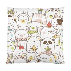 Cute-baby-animals-seamless-pattern Standard Cushion Case (one Side) by Sobalvarro