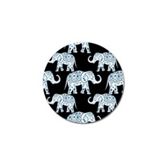 Elephant-pattern-background Golf Ball Marker (10 Pack) by Sobalvarro