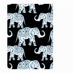 Elephant-pattern-background Large Garden Flag (two Sides) by Sobalvarro