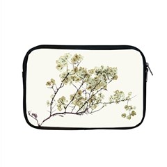 Photo Illustration Flower Over White Background Apple Macbook Pro 15  Zipper Case by dflcprintsclothing