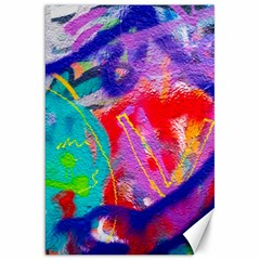 Crazy Graffiti Canvas 20  X 30  by essentialimage