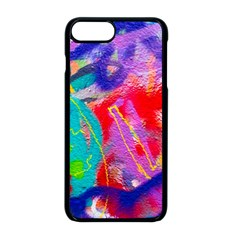 Crazy Graffiti Iphone 8 Plus Seamless Case (black)