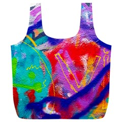 Crazy Graffiti Full Print Recycle Bag (xxl) by essentialimage