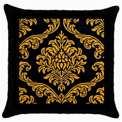 Finesse  Throw Pillow Case (black)