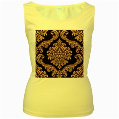 Finesse  Women s Yellow Tank Top by Sobalvarro