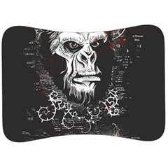 Monster Monkey From The Woods Velour Seat Head Rest Cushion by DinzDas