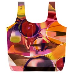 Fractured Colours Full Print Recycle Bag (xxl)