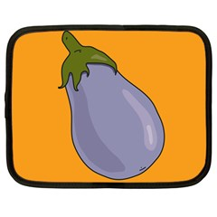 Eggplant Fresh Health Netbook Case (large) by Mariart