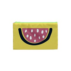 Fruit Watermelon Red Cosmetic Bag (xs) by Alisyart