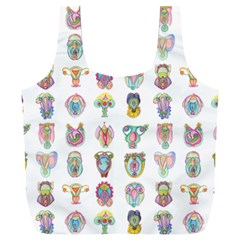 Female Reproductive System  Full Print Recycle Bag (xxxl) by ArtByAng