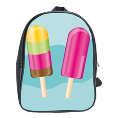 Ice Cream Parlour School Bag (large)