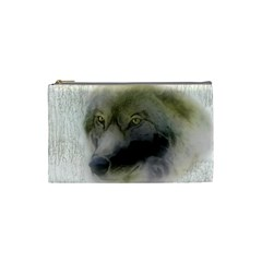 Wolf Evil Monster Cosmetic Bag (small)
