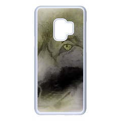Wolf Evil Monster Samsung Galaxy S9 Seamless Case(white) by HermanTelo