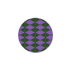 Digital Grapes Golf Ball Marker (4 Pack) by Sparkle