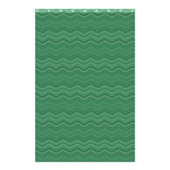 Digital Waves Shower Curtain 48  X 72  (small)