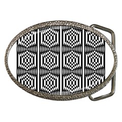Optical Illusion Belt Buckles