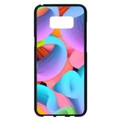 3d Color Swings Samsung Galaxy S8 Plus Black Seamless Case