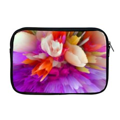 Poppy Flower Apple Macbook Pro 17  Zipper Case