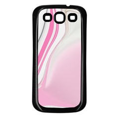 Modern Pink Samsung Galaxy S3 Back Case (black) by Sparkle
