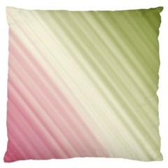 Pink Green Standard Flano Cushion Case (one Side) by Sparkle