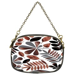 Shiny Leafs Chain Purse (two Sides) by Sparkle