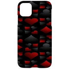 Digital Cards Iphone 11 Black Uv Print Case by Sparkle
